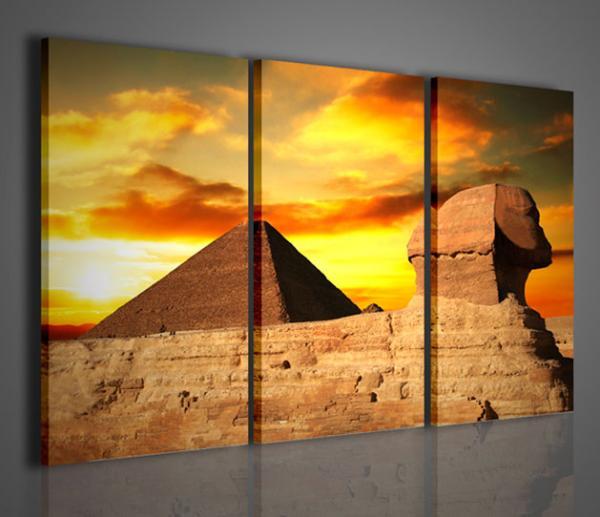 Quadri ModerniQuadri EtniciPyramid  Stampe su tela quadri moderni per arredamento casa