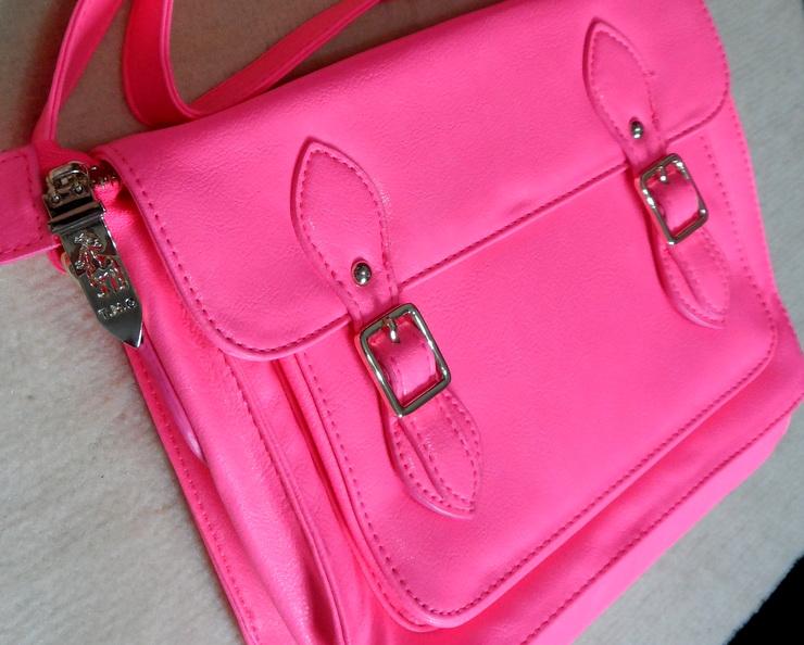 Bolsa Pink Romwe