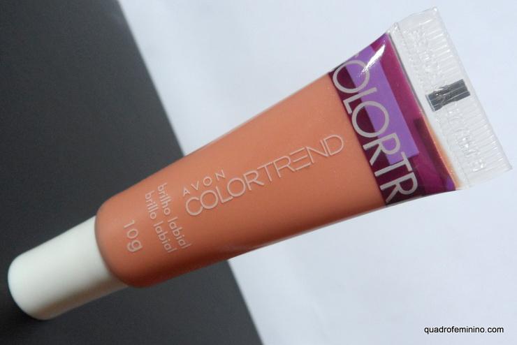 Brilho Labial Nude Clássico Avon Color Trend