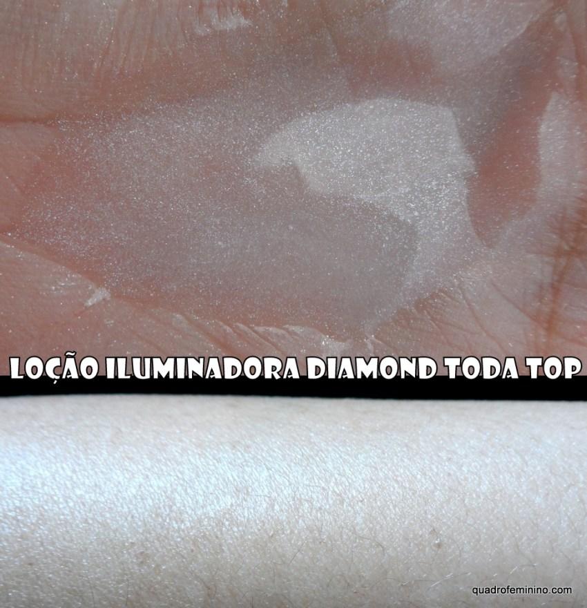 Loção Iluminadora Diamond Toda Top - Pessini Cosméticos