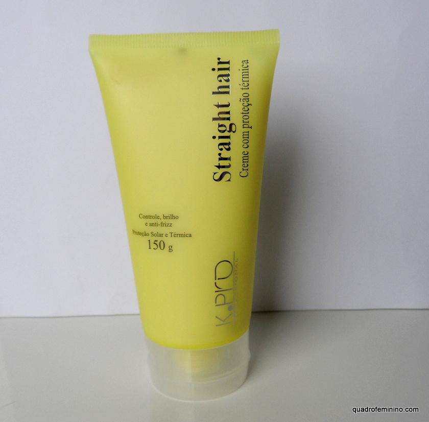 Straight Hair K.Pro - protetor térmico