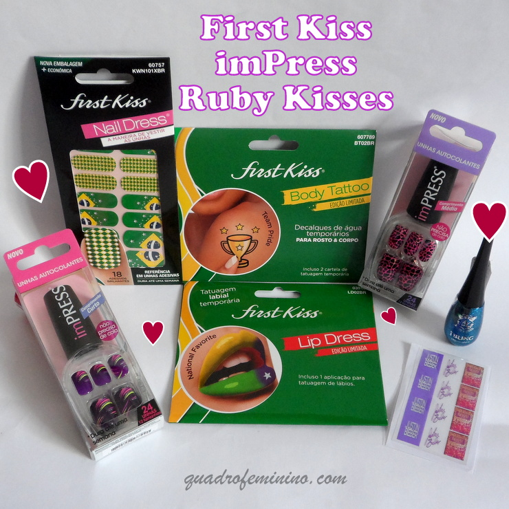 First Kiss, Ruby Kisses, ImPress, Kiss New York