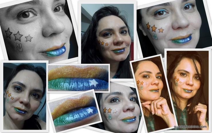 Tatuagem temporária para lábios Lip Dress First Kiss - Kiss New York