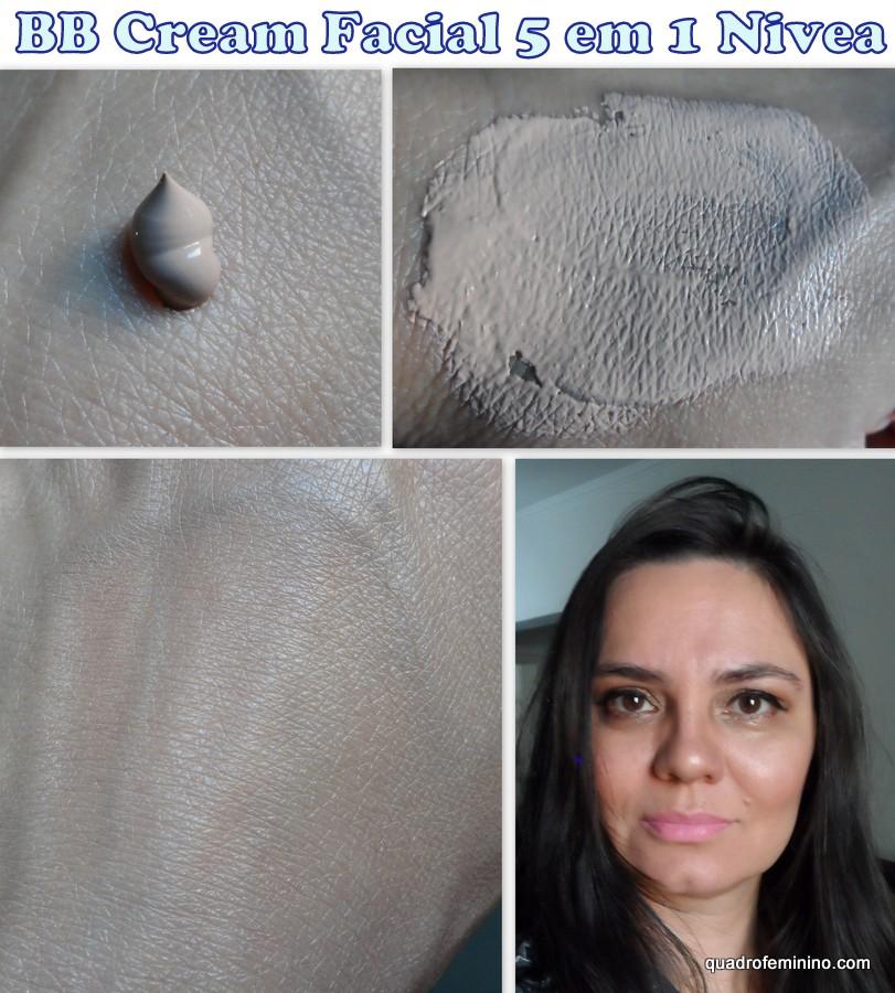 BB Cream Facial 5 em 1 Nivea