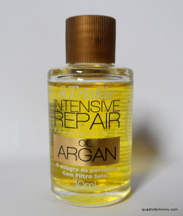 Óleo Argan Oil Intensive Repair Triskle