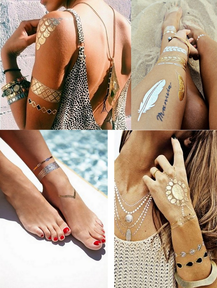 Flash tattoos ou flash tats (2)