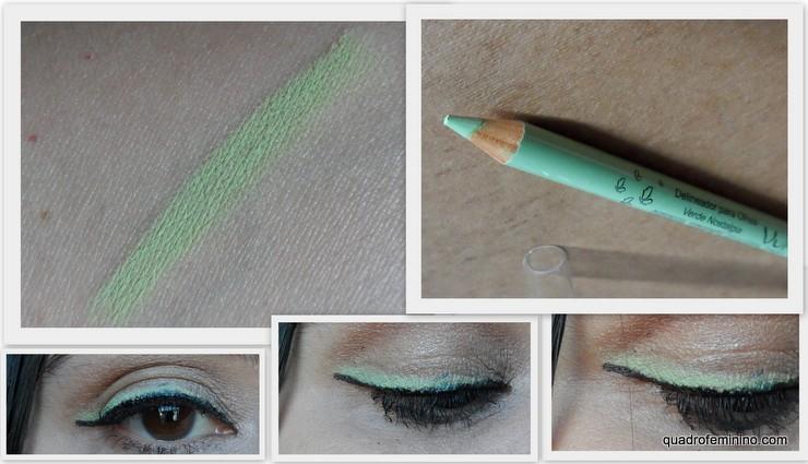 Delineador para Olhos Verde Nostalgia Vult