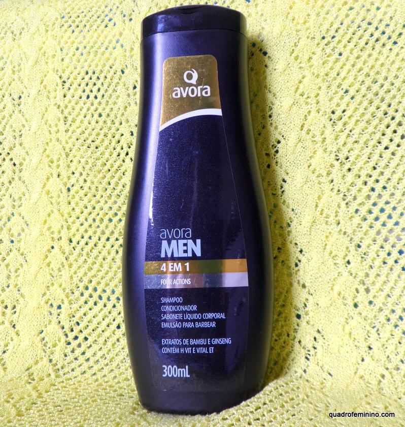 Avora Men Shampoo 4 em 1