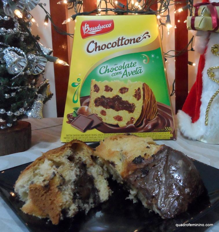 Chocottone Bauducco Chocolate e Avelã