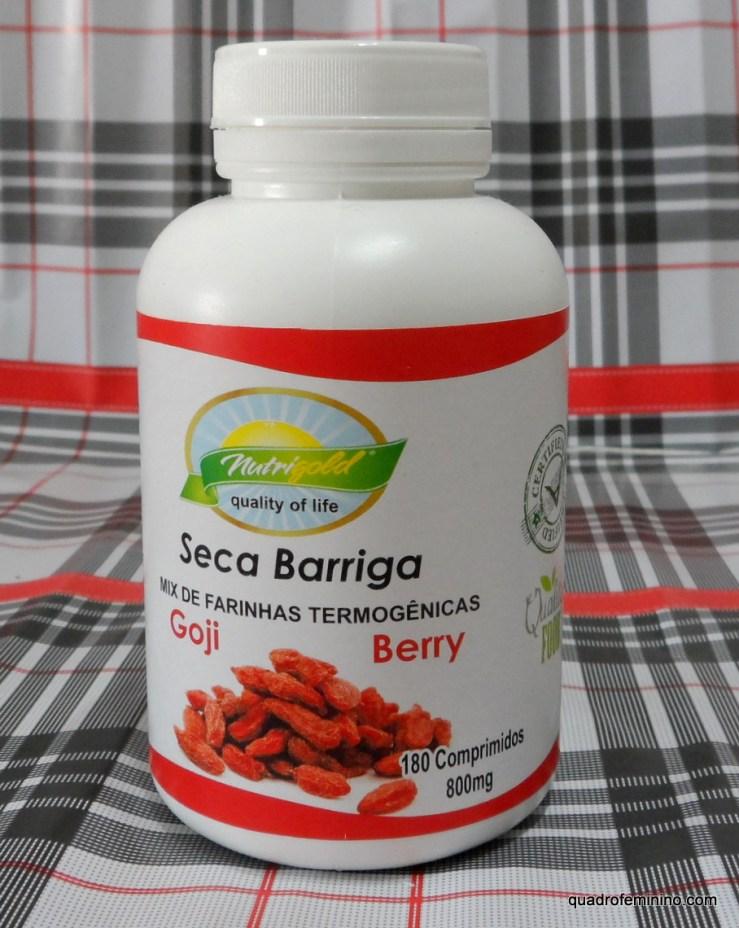 Farinha Seca Barriga Goji Berry da Nutri Gold