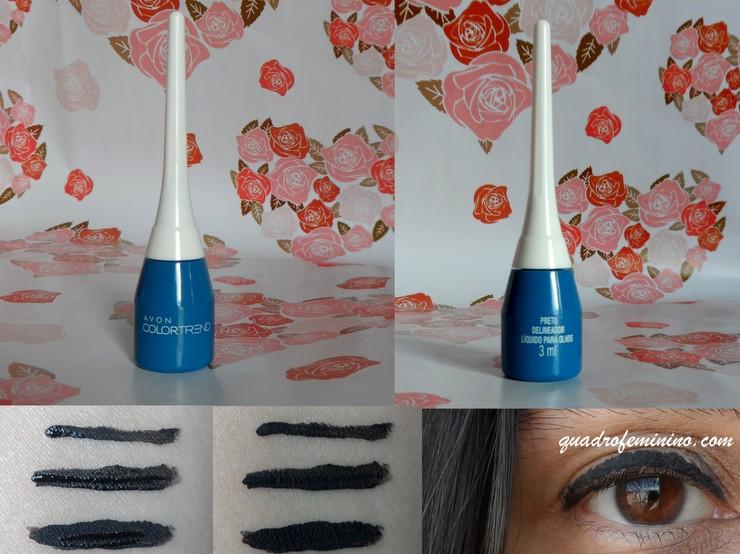 Delineador Líquido para Olhos Avon Color Trend