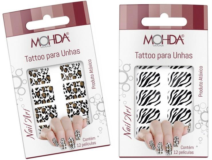 Tattoos para Unhas Mohda