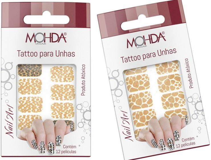 Tattoos para Unhas - Mohda