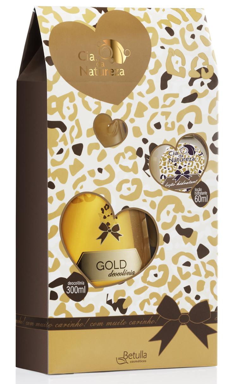 Kit Gold Cia. da Natureza - Betulla Cosméticos