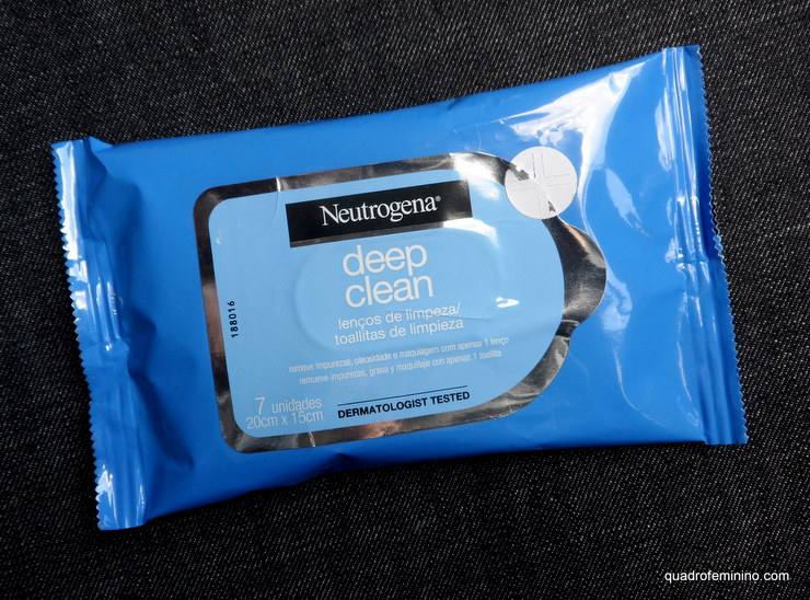 Neutrogena Deep Clean - Lenço Demaquilante