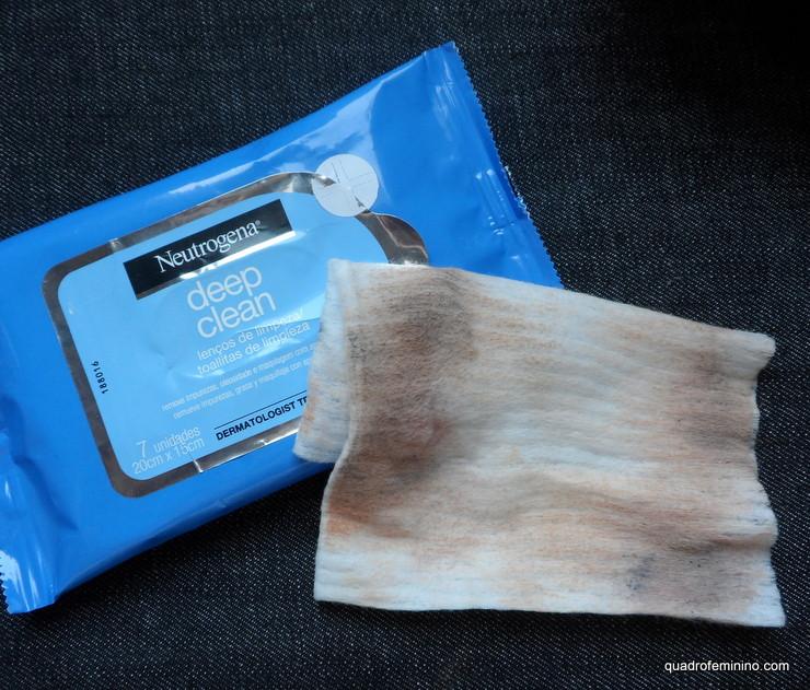 Neutrogena Deep Clean - Lenço de limpeza facial