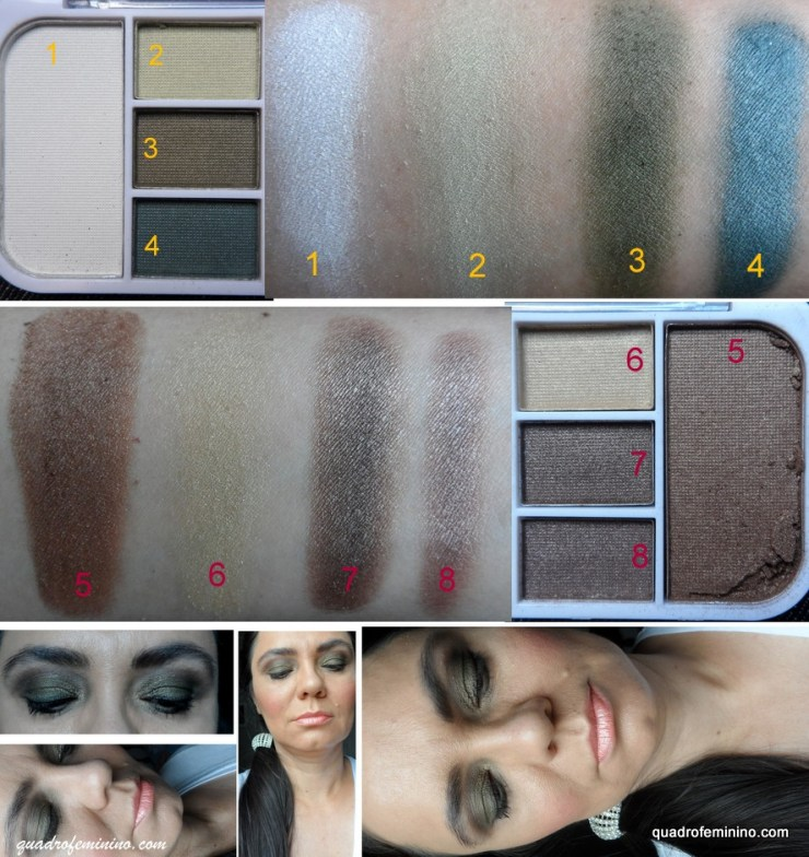 Shine Eight Pallete G3 -  Fenzza Make Up