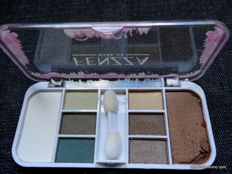 Shine Eight Pallete G3 - branco, verdes, marrons
