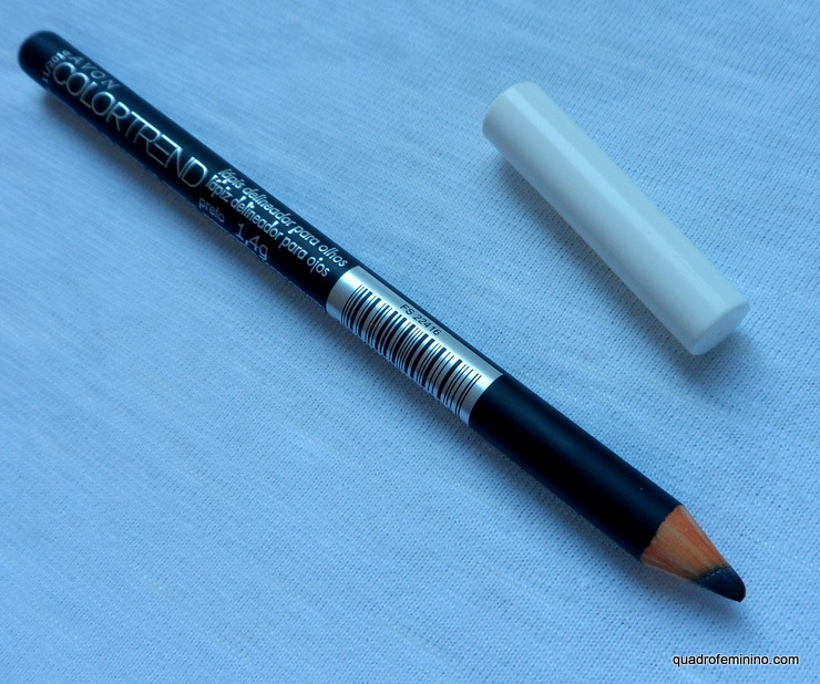 Lápis delineador para olhos - Avon ColorTrend