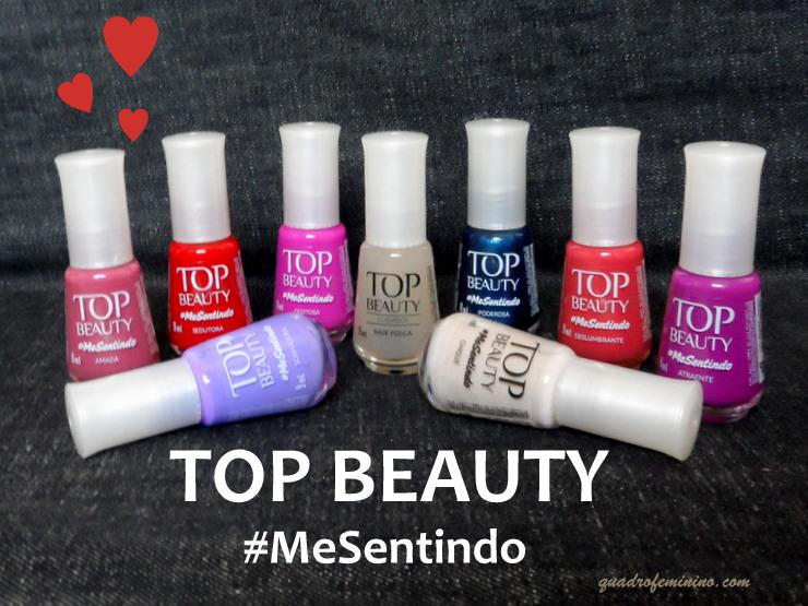 Coleção Top Beauty MeSentindo