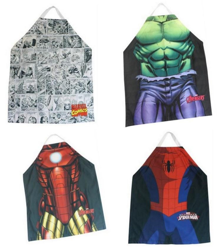 Avental Super-Heróis - Marvel