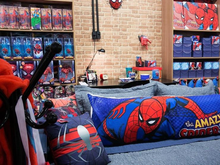 Super-heróis da Marvel - Decoração