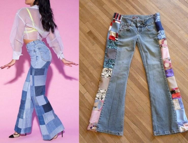 Jeans - patchwork