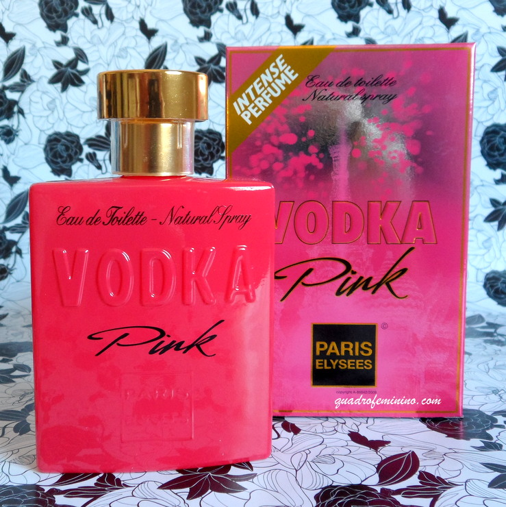 Paris Elysees Vodka Pink
