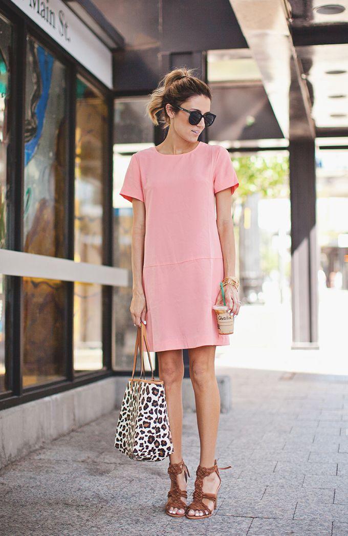 Vestido alfaiataria rosa