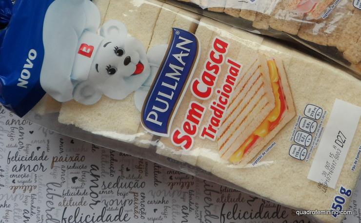Pão Sem Casca Pullman