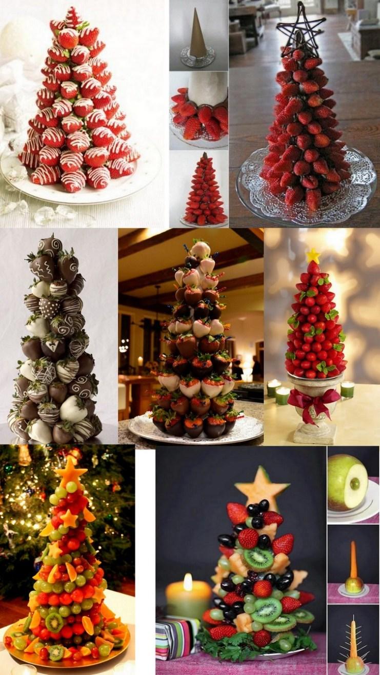 Árvores com frutas