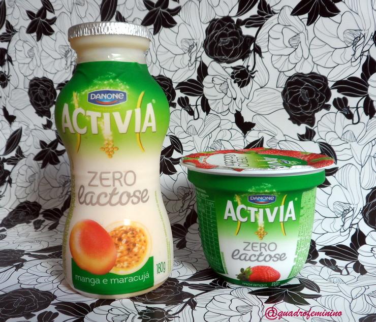 Activia zero lactose com probióticos