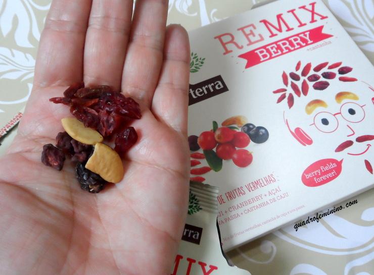 Remix Berry + Castanhas - Mãe Terra - 20g