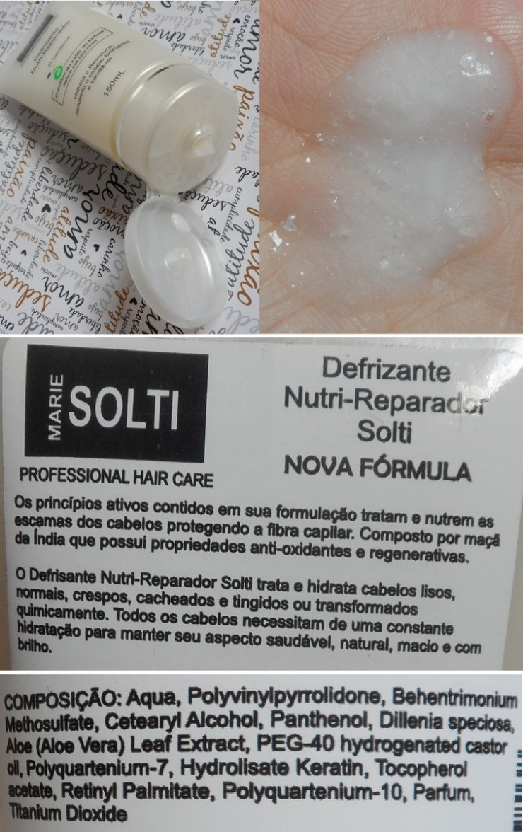 Defrizante Nutri-Reparador Marie Solti