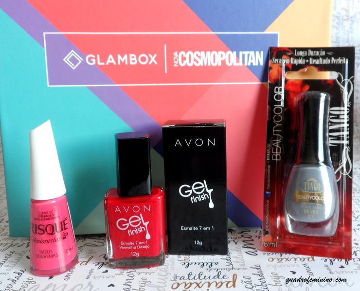 Glambox Cosmopolitan - Esmaltes -2016