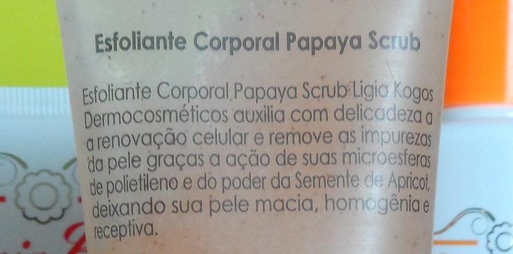 Ligia Kogos Papaya Scrub (2)