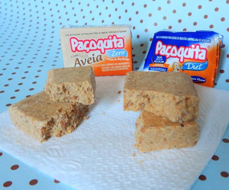 Paçoquita Diet e Aveia Zero - Santa Helena