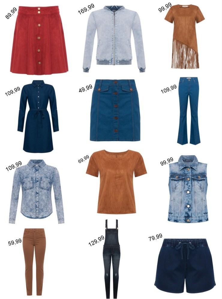 C&A para o Outono - Jeans e Suede