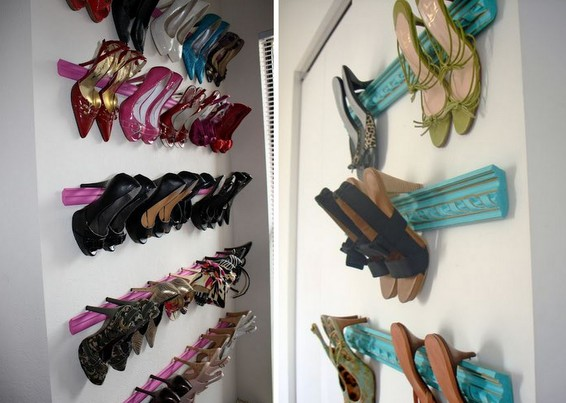 Organizar sapatos - suporte