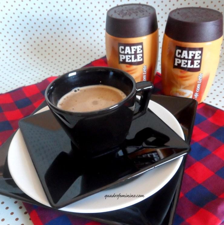 Café com leite-Café Pelé