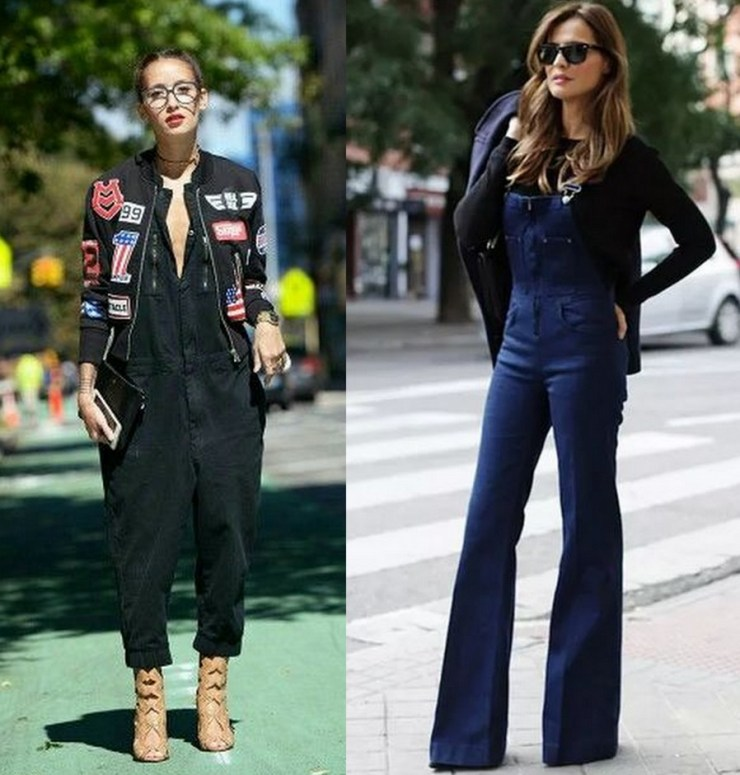 macacão jeans Look de inverno