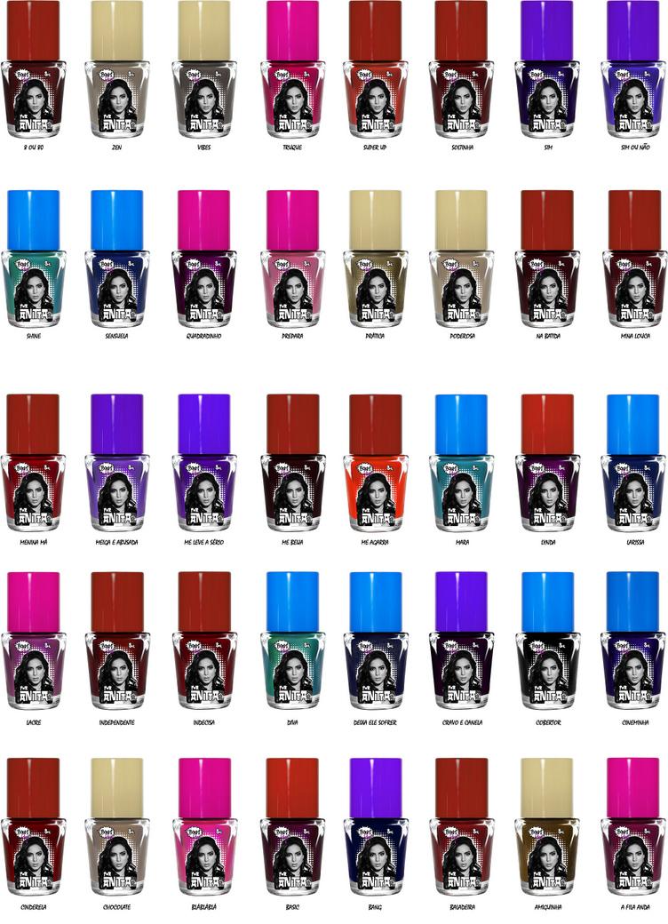 Esmaltes Boompop Anitta