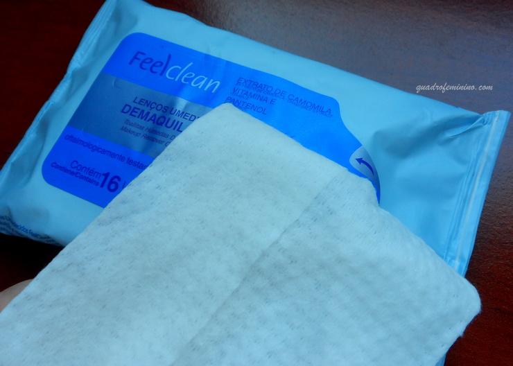lenço umedecido - FeelClean