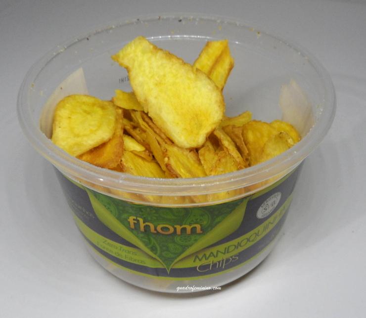 Chips de Mandioquinha - Kitanda
