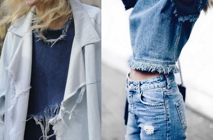 jeans desfiado