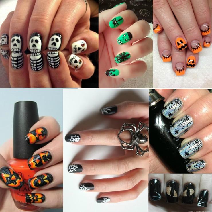 halloween-unhas