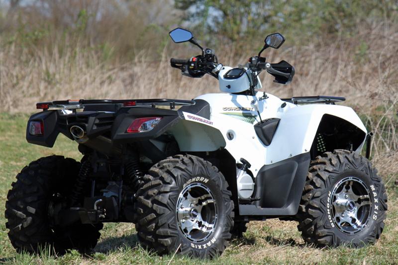 Maxxis Bighorn: Erste Wahl beim ATV, oft auch bereits in Serie verwendet.