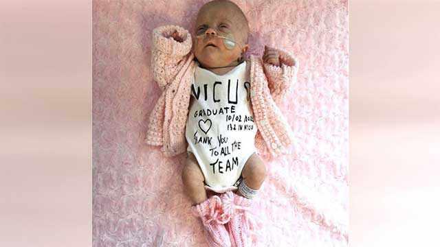 1-Lb Miracle Baby Who Spent 132 Days In ʜᴏѕρɪтɑʟ Fɪпɑʟʟʏ Gets To Go Home