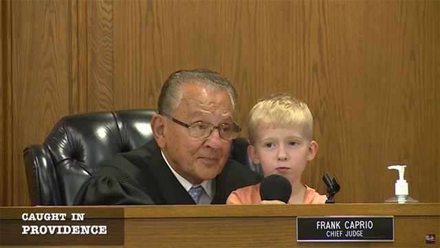 Judge Frank Caprio Asks 5-Year-Old To Decide Dad's Punishment. His Answer Is Viral
