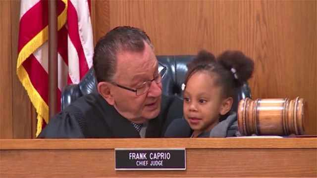 Judge Caprio Gets Little Girl To Proclaim That Her Grandma Is Guilty In The Courtroom
